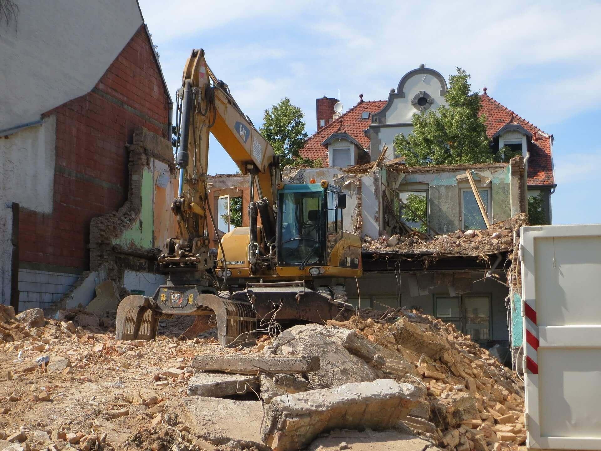 Entkernungsarbeiten Wohnung